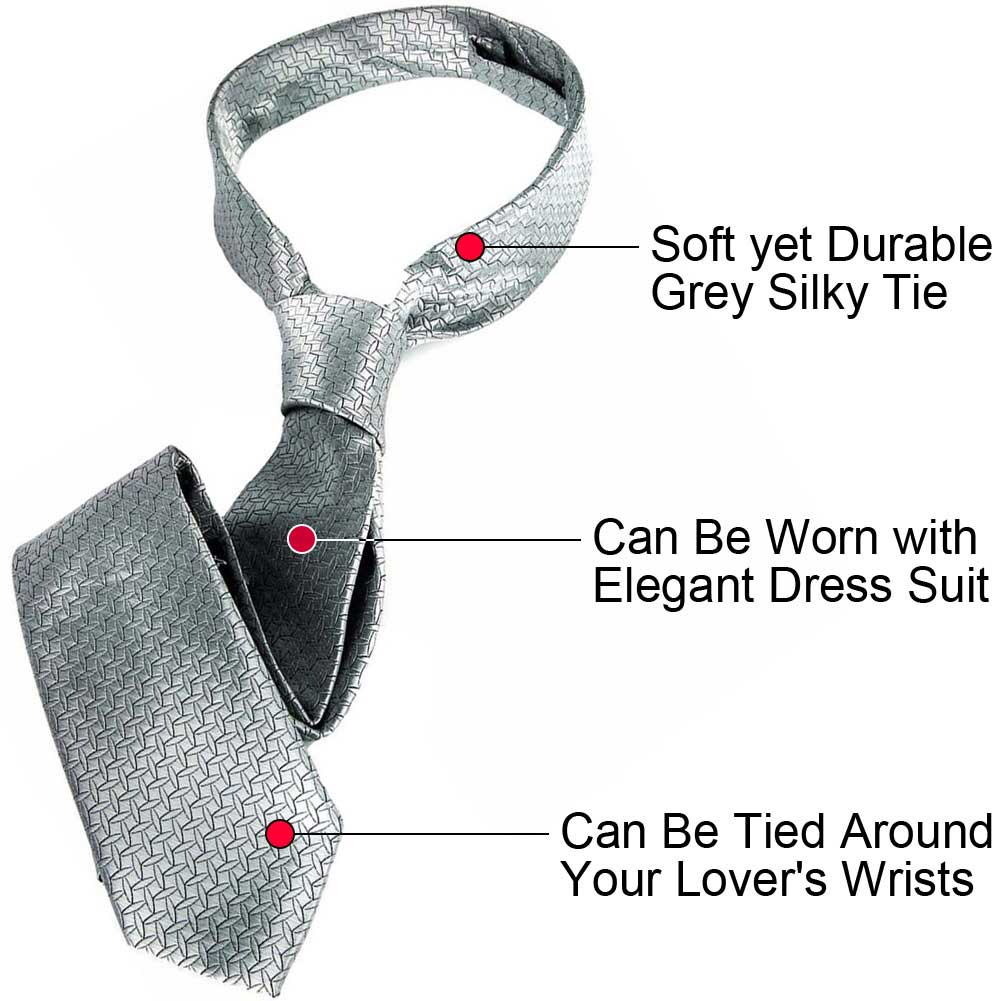 Official Fifty Shades of Grey Collection Christian GreyS Tie - View #1