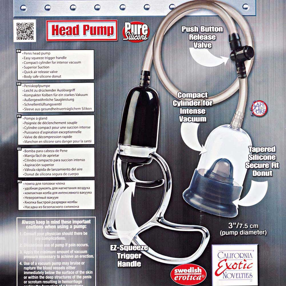 Precision Pump Head Pump Smoke - View #1