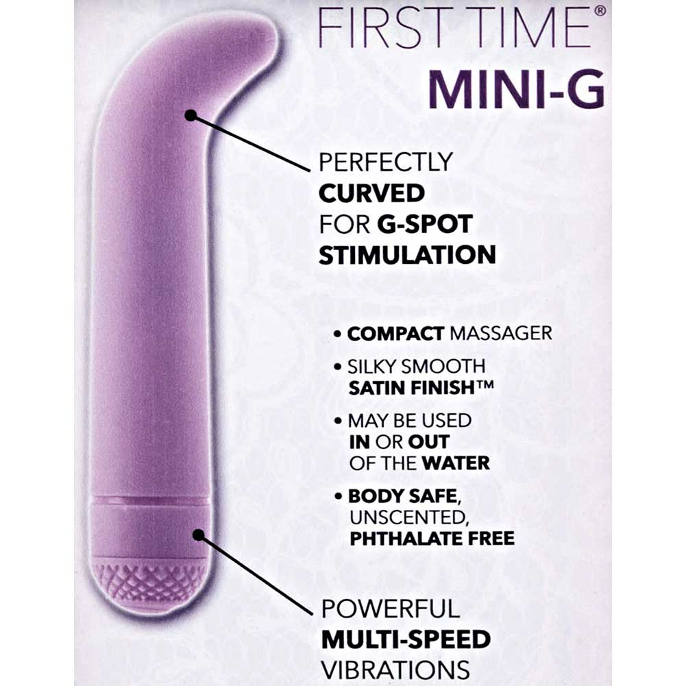 "CalExotics First Time Power G Mini G-Spot Vibrator 4.5"" Sexy Purple - View #1"