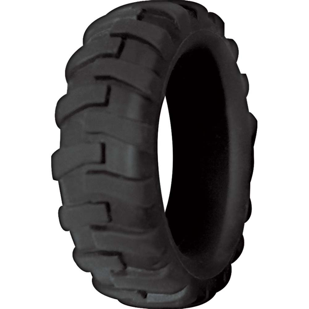Mack Tuff Large Tire Silicone Ring Black - View #2