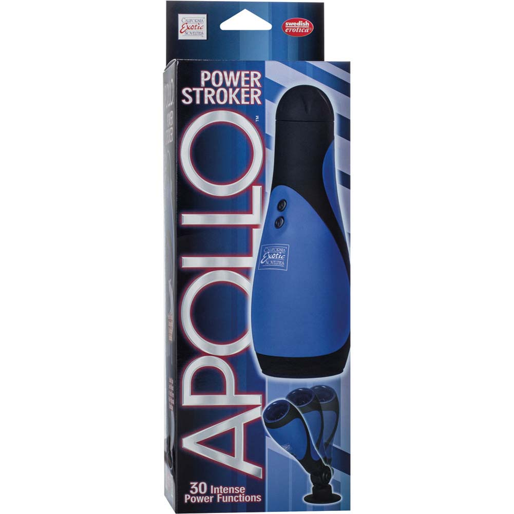 California Exotics Apollo Power Stroker Blue - View #4