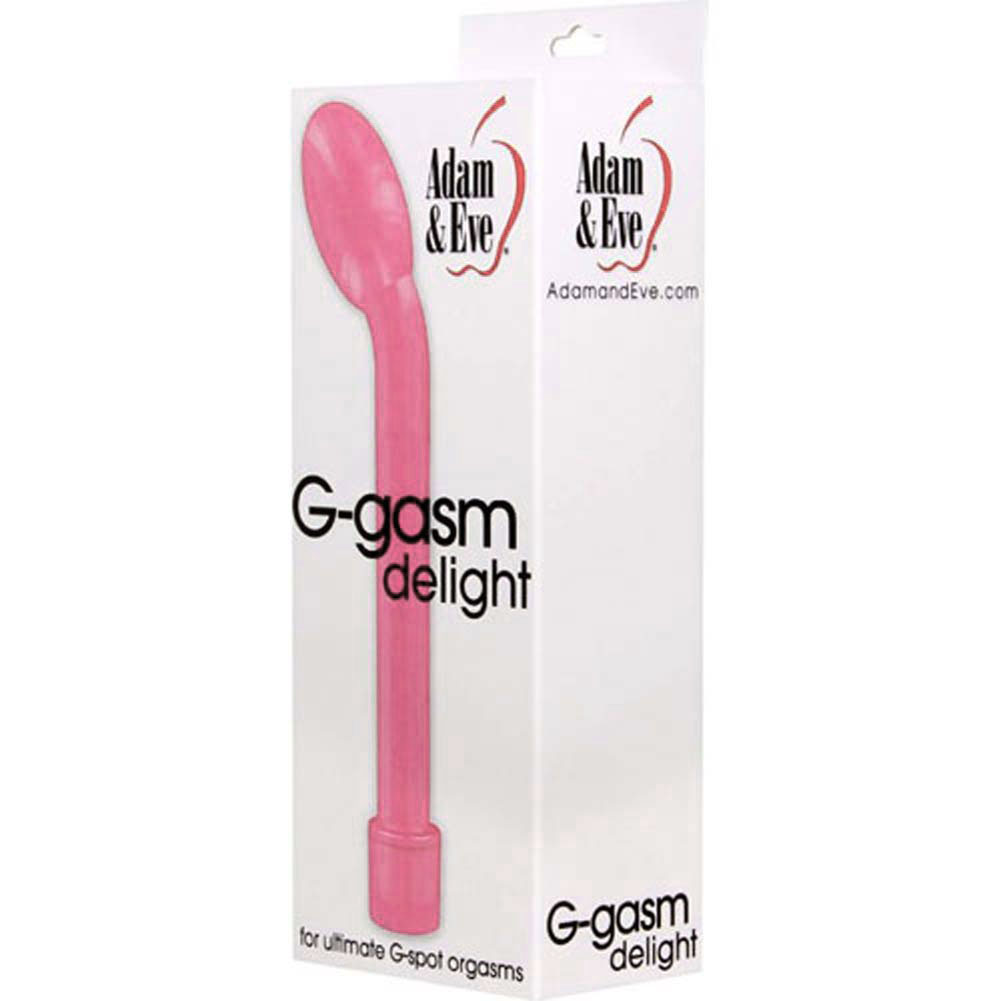 "Adam and Eve G-Gasm Delight G-Spot Vibrator 7"" Pink - View #1"