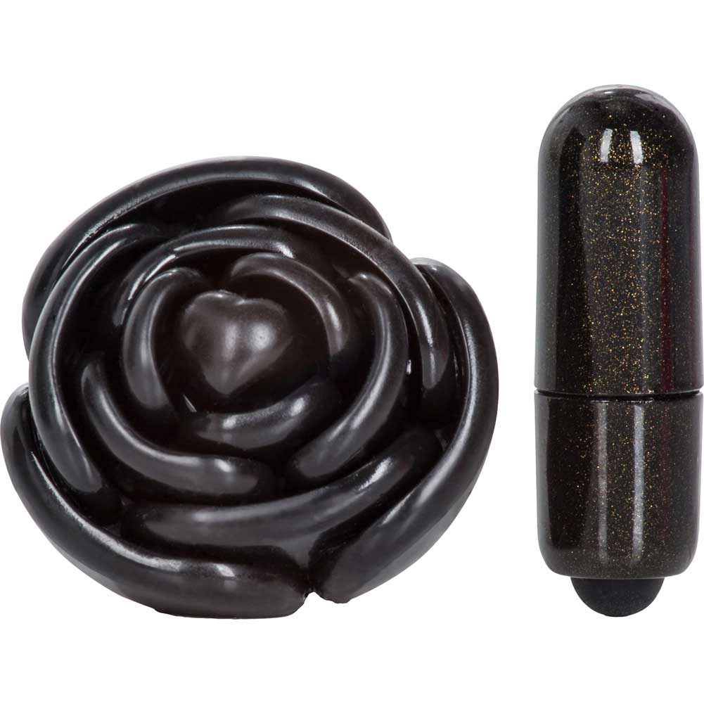 California Exotics Coco Licious Love Vibrating Ring Black - View #4
