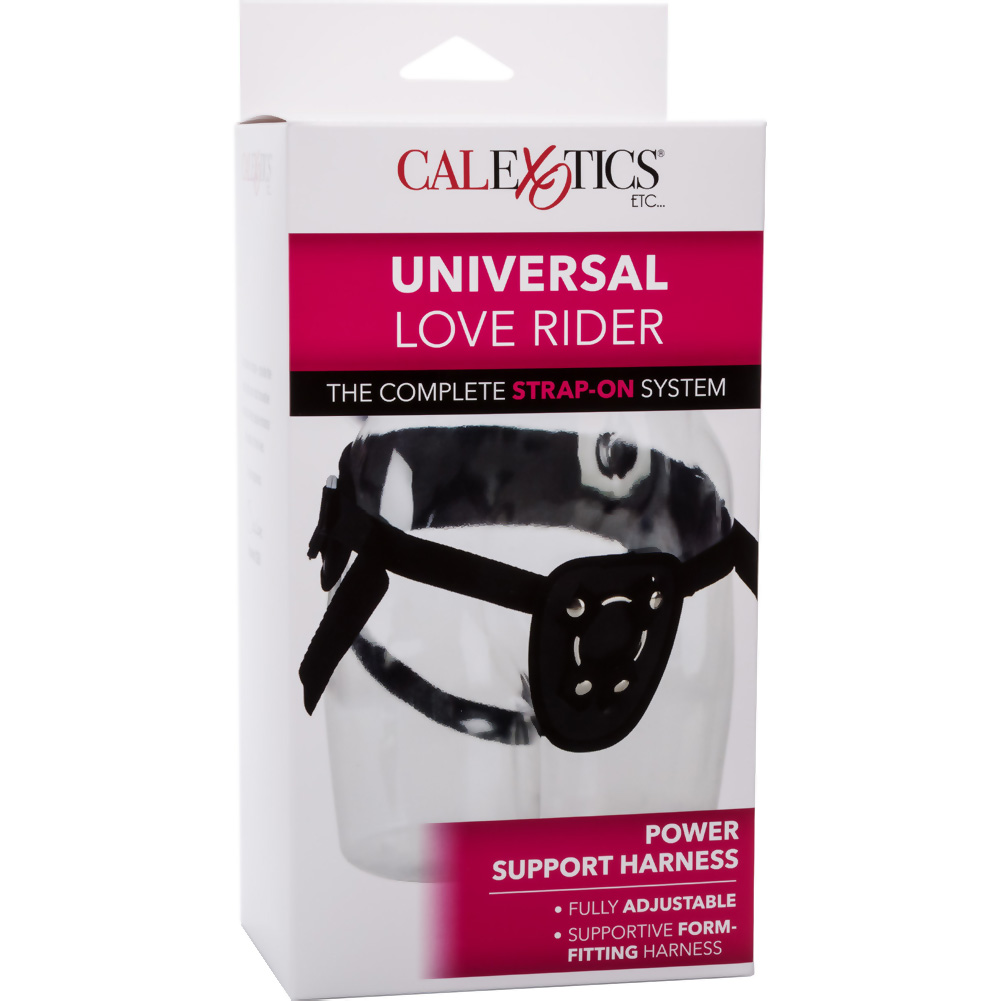 Love Rider Universal Power Support Strap-On Harness Black - View #4
