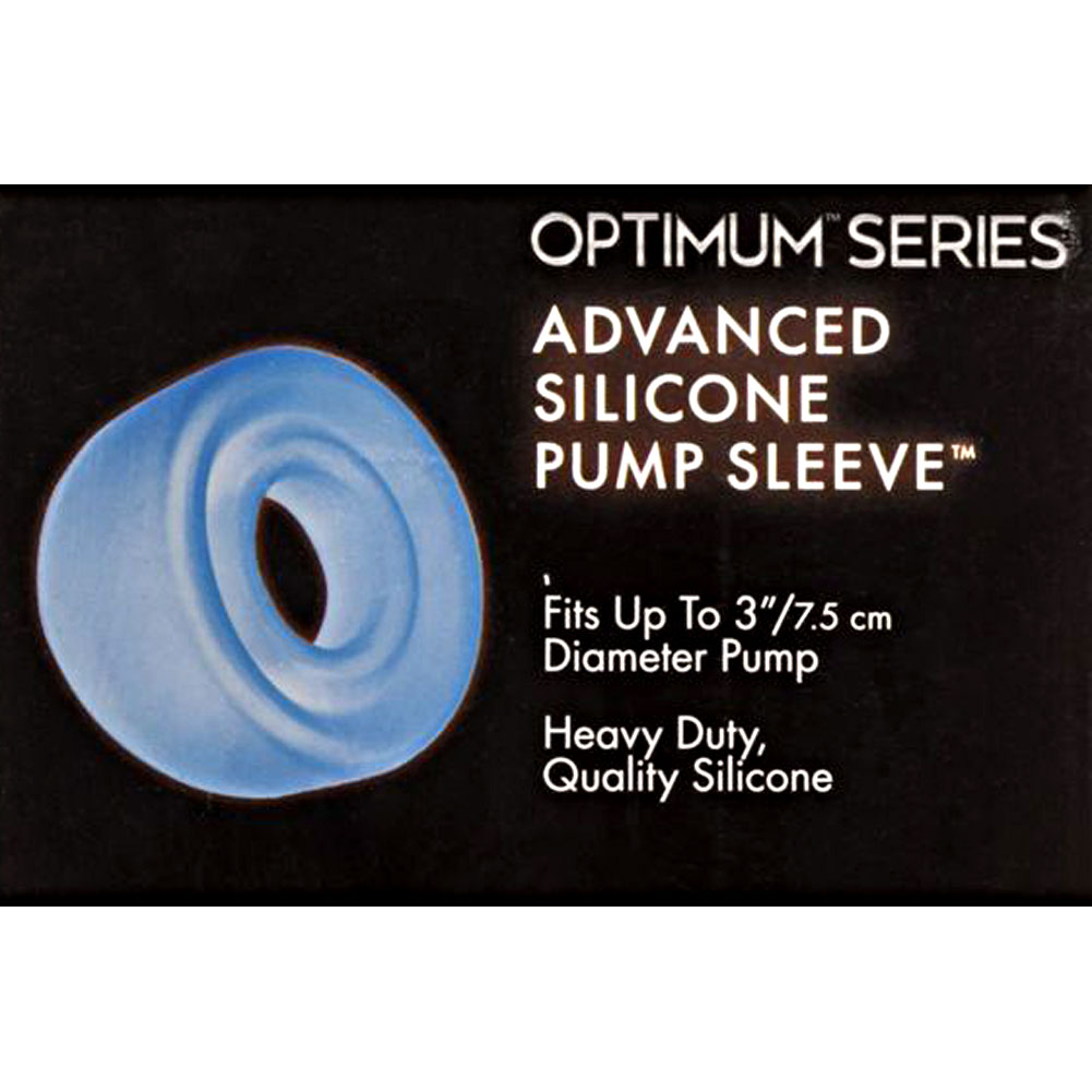 "Advanced Silicone Pump Sleeve 3"" Blue - View #1"
