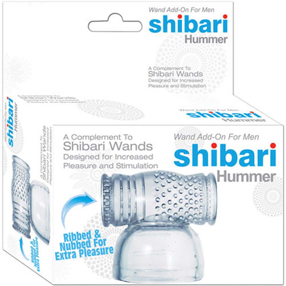 Shibari Hummer Wand Attachment Clear - View #1