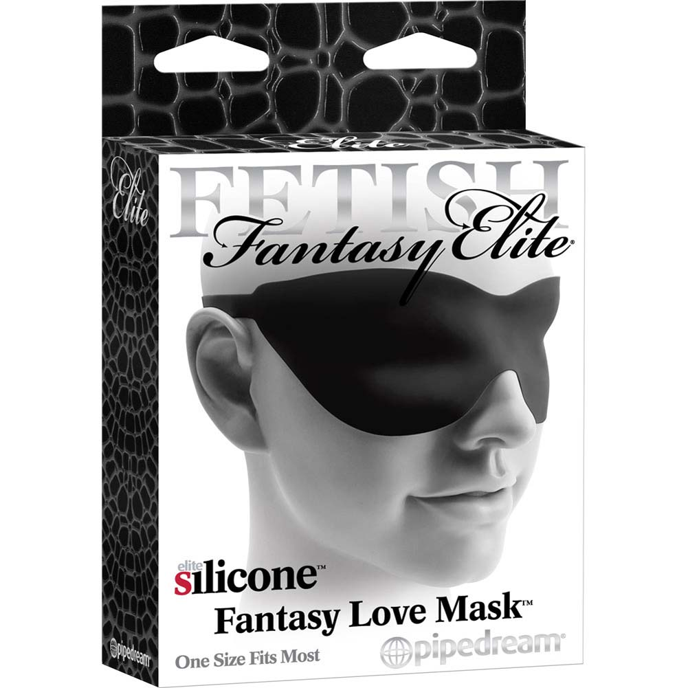 Fetish Fantasy Elite Fantasy Love Mask Black - View #3