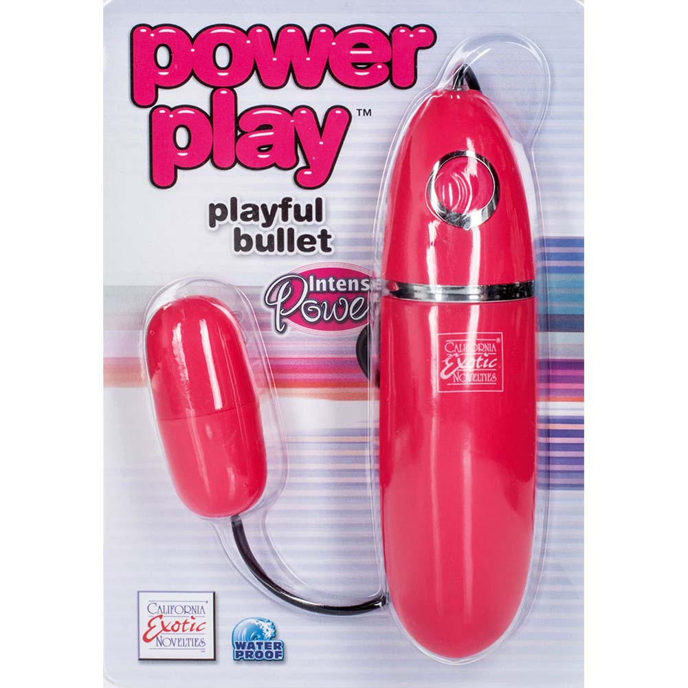 """Power Play Silicone Playful Bullet 2.25"""" Pink - View #1"""