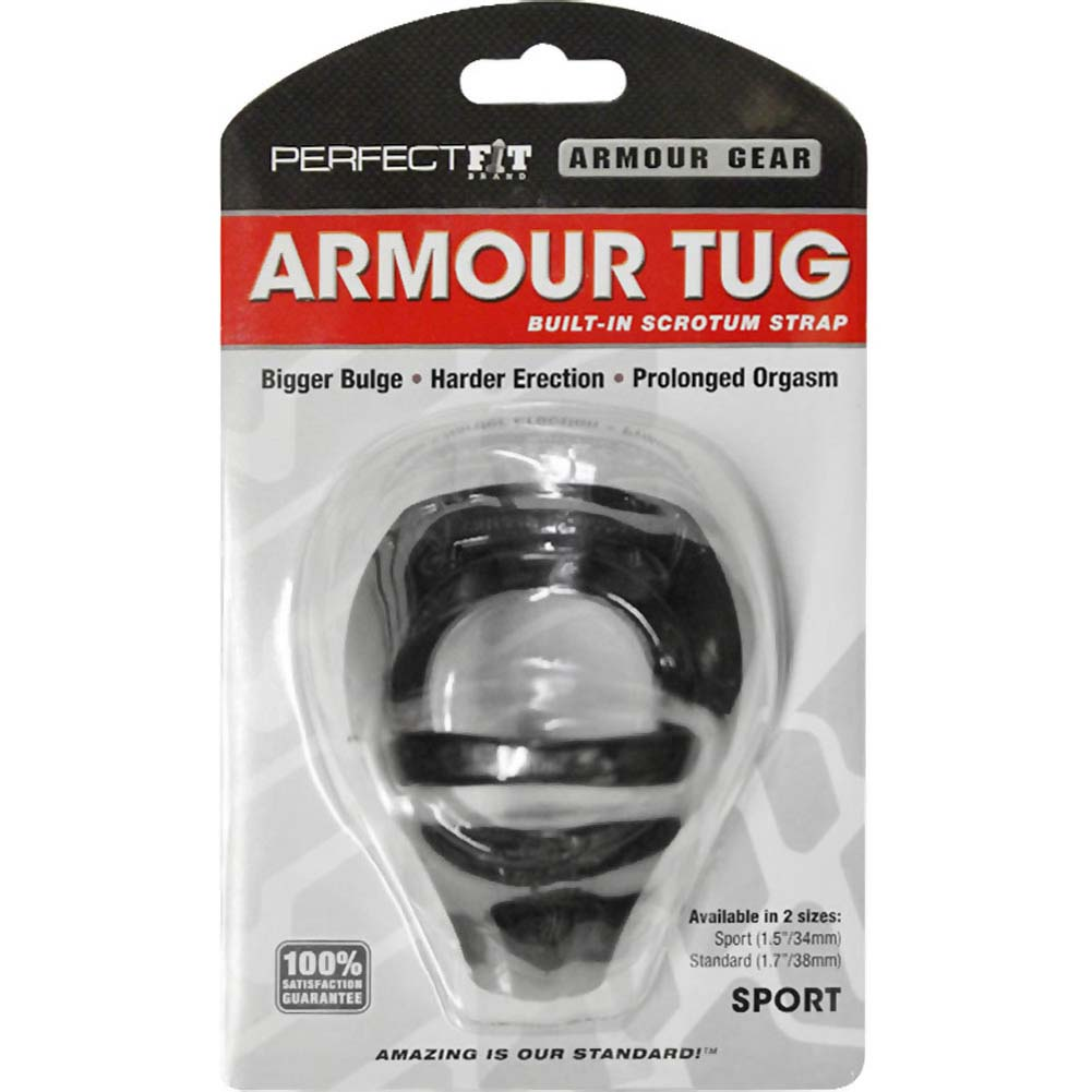 "Perfect Fit Armour Tug Sport 1.5"" Black - View #1"
