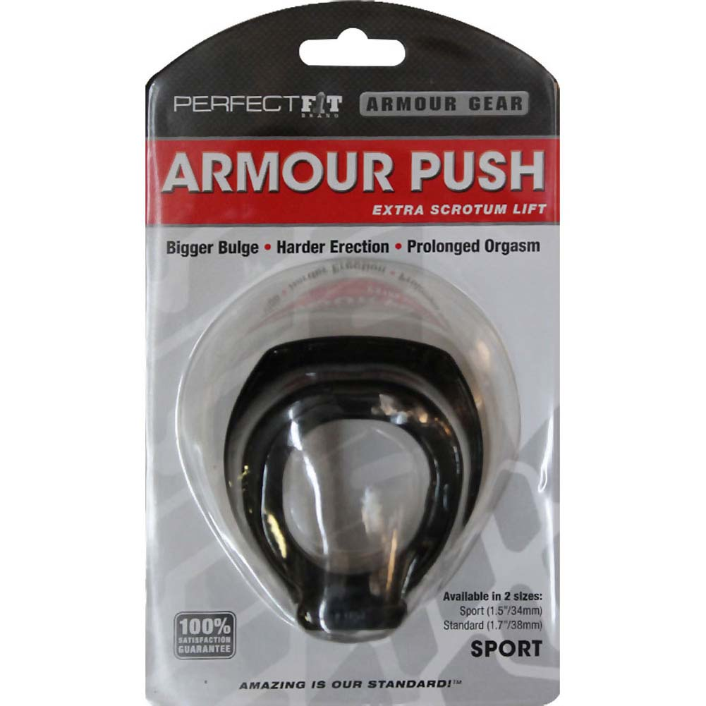 "Perfect Fit Armour Push Sport 1.5"" Black - View #1"