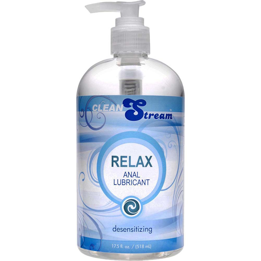 CleanStream Relax Desensitzng Anal Lube 17.5 Fl. Oz. - View #2