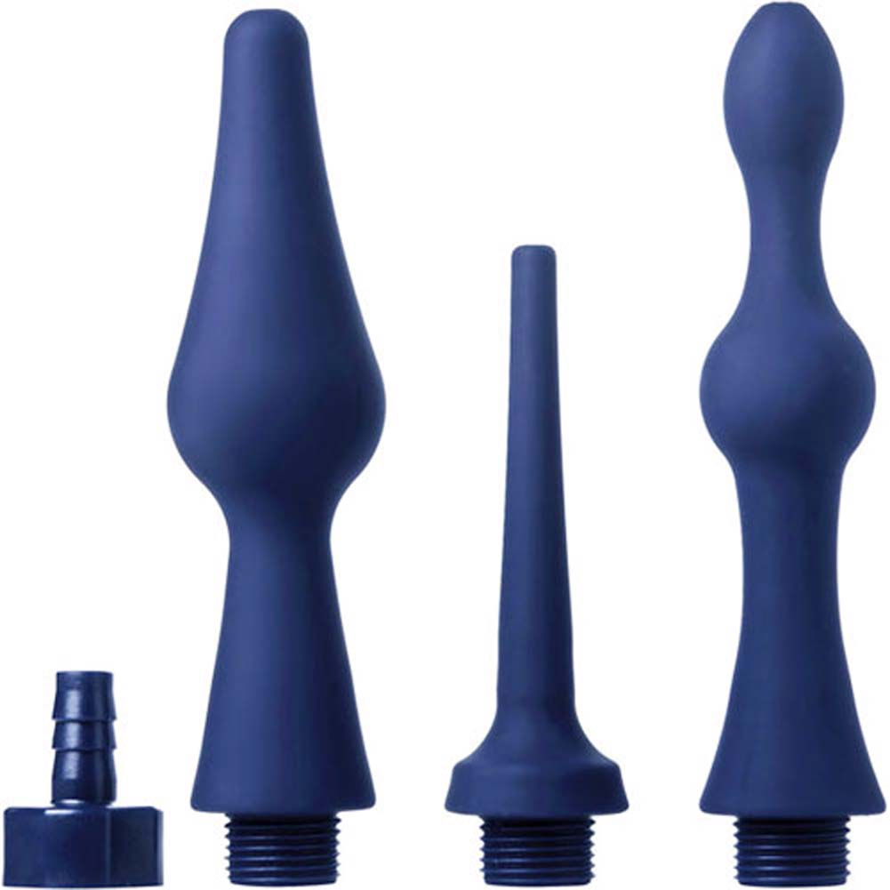 CleanStream Universal 3 Piece Silicone Enema Attachment Set - View #2