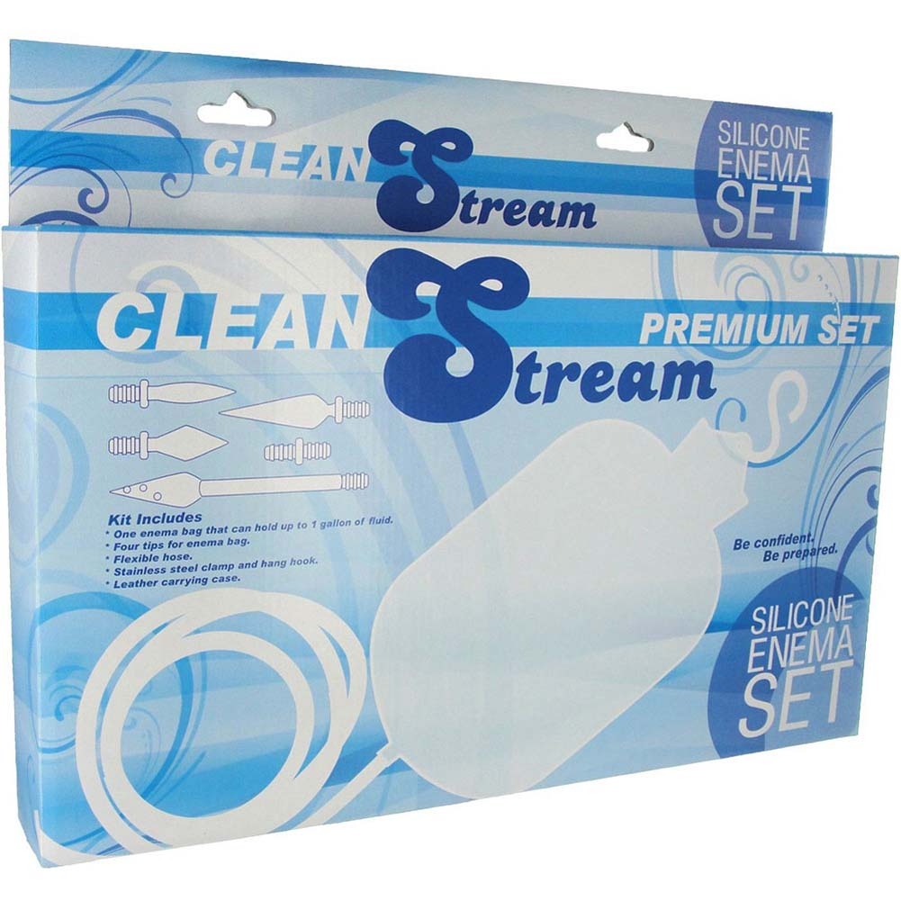CleanStream Premium Bag System Silicone Enema Set - View #4