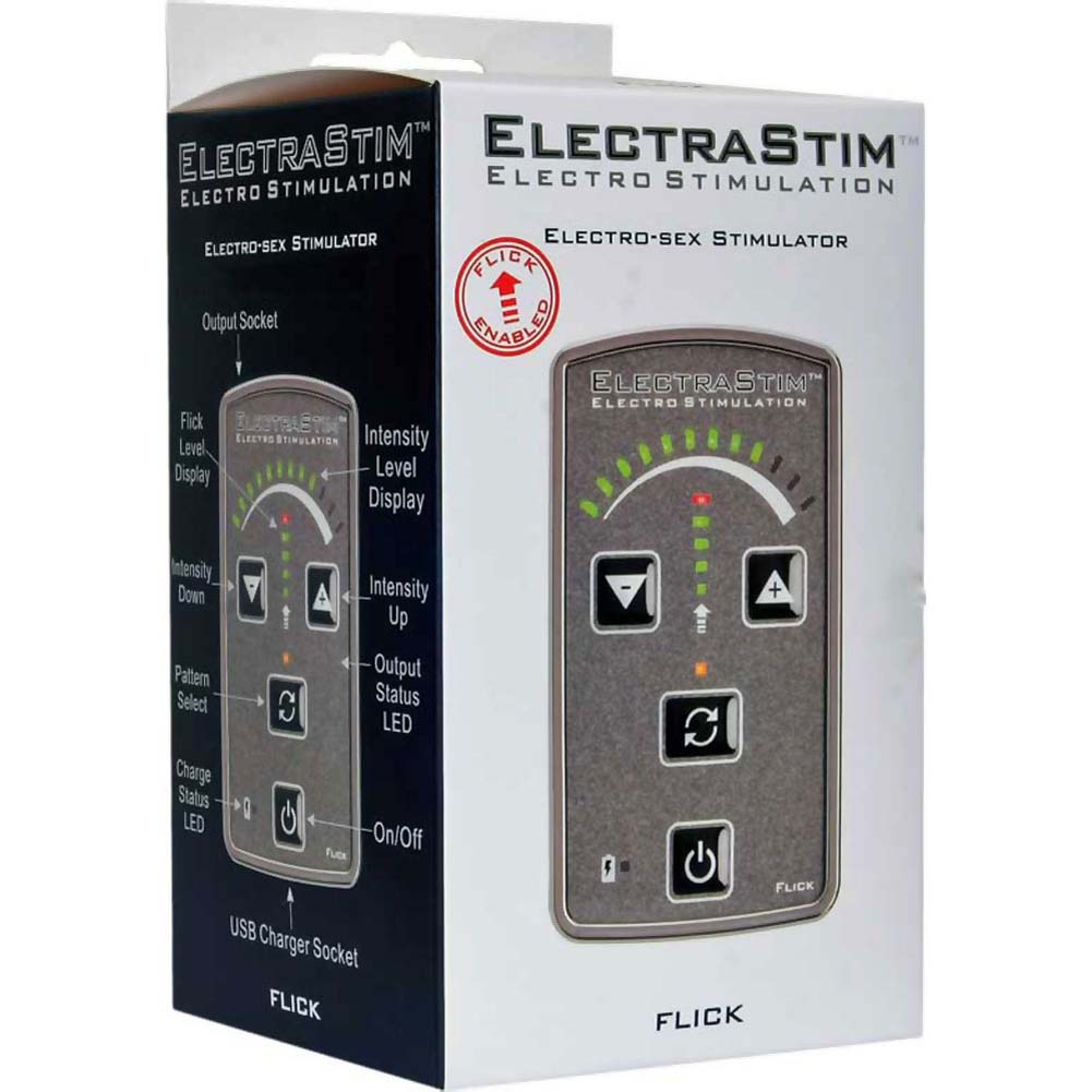 ElectraStim Flick Electro-Sex Stimulator Pack - View #1