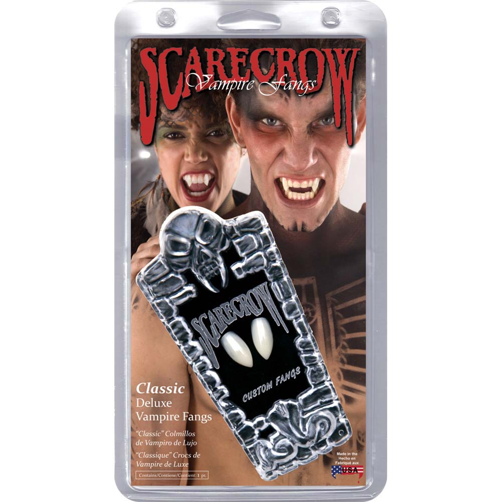 Scarecrow Classic Deluxe Custom Fangs - View #1