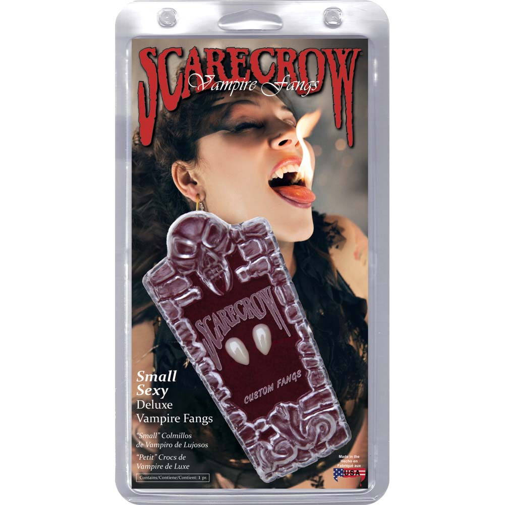 Scarecrow Small Sexy Deluxe Vampire Fangs - View #1