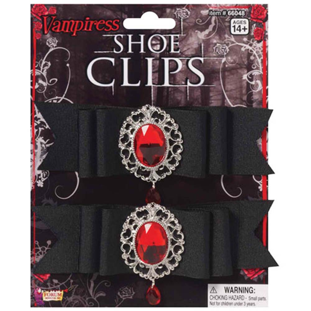 Vampiress Shoe Clips - View #1