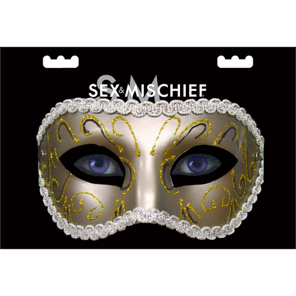Sex and Mischief SM Masquerade Mask - View #2