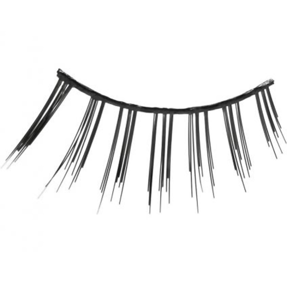 Eye Candy Optical Illusion Flirty Demi Lashes Black - View #1
