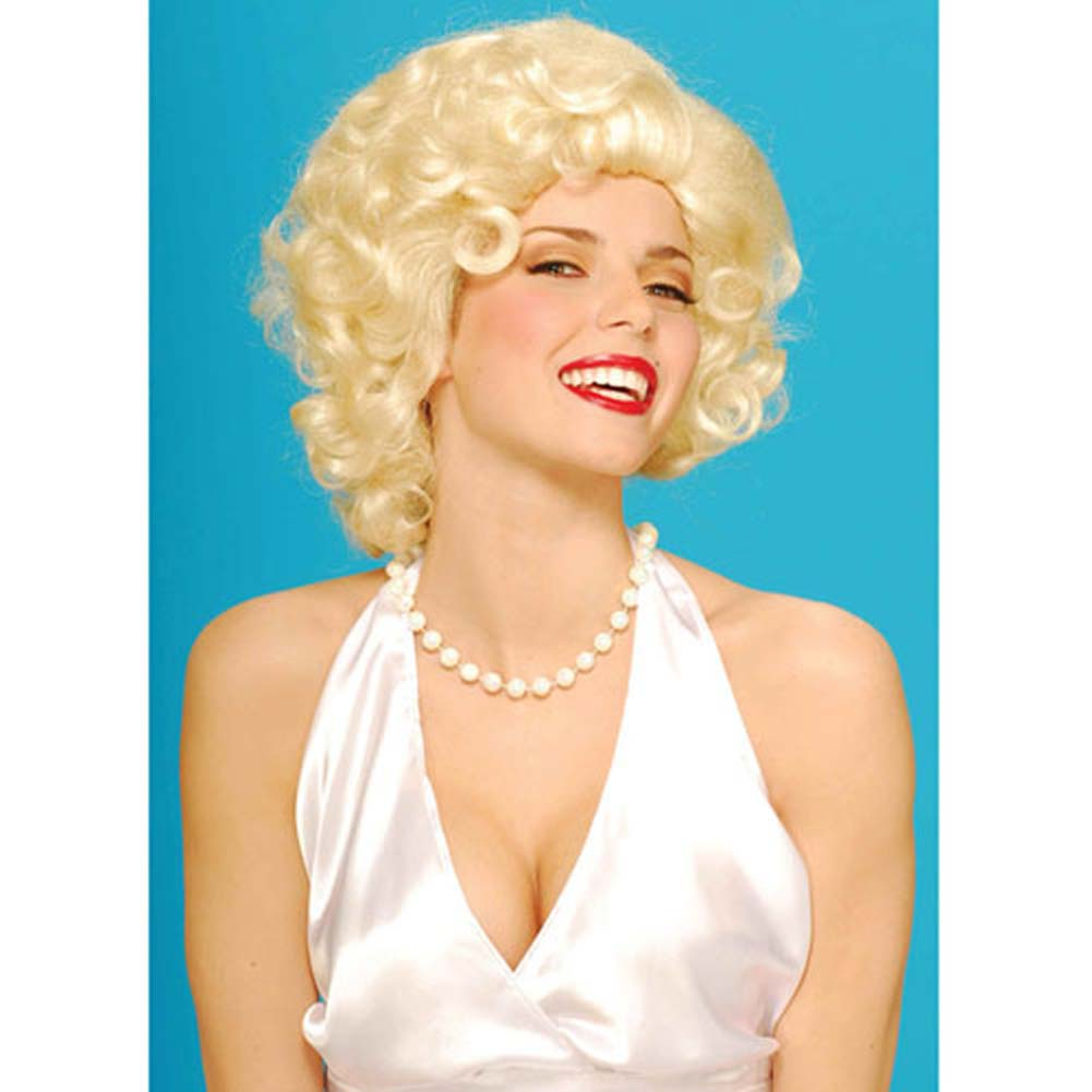 Blonde Bombshell Wig - View #1