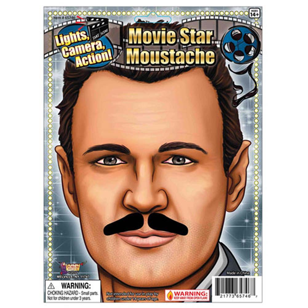 Movie Star Moustache - View #1