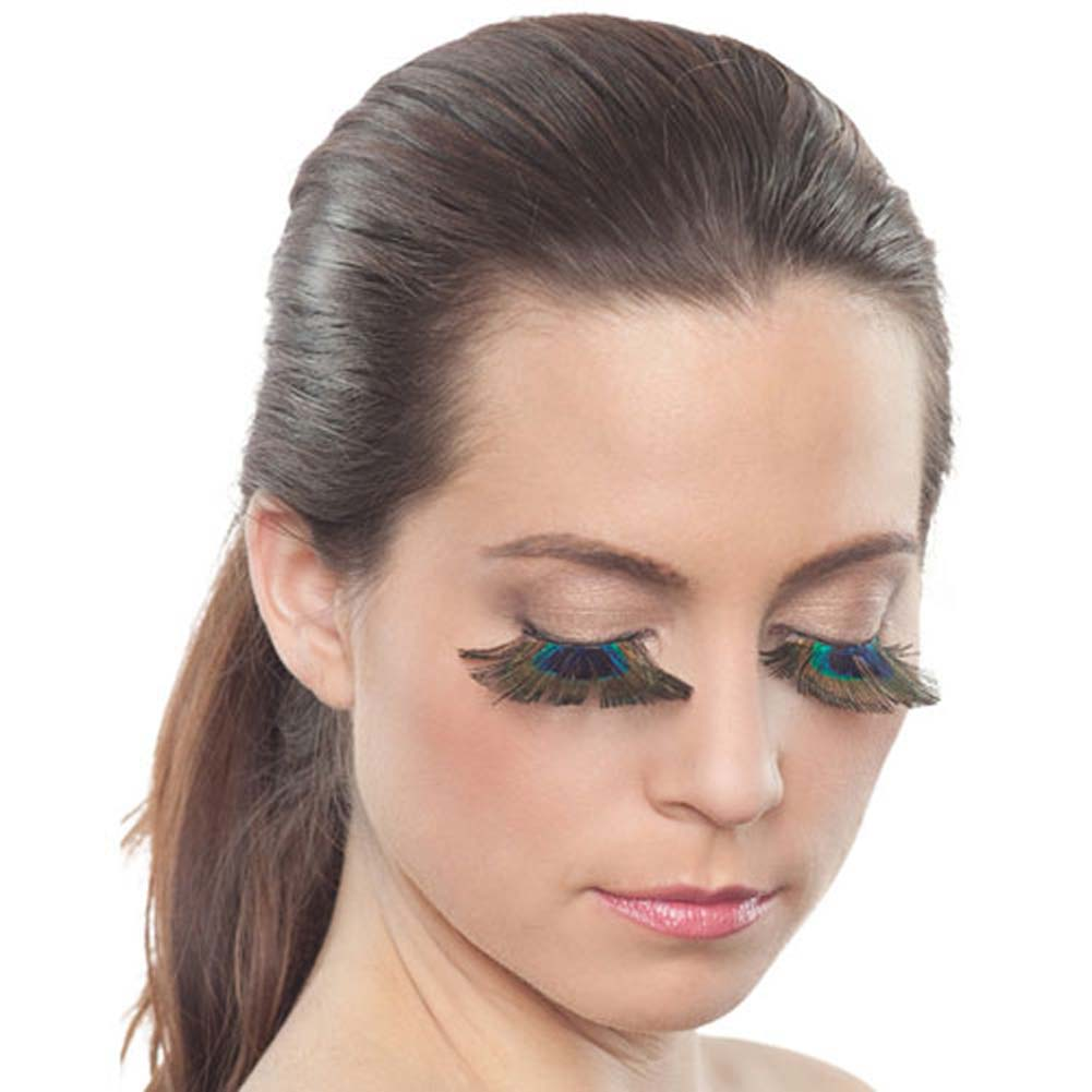Peacock Eyelashes - View #1