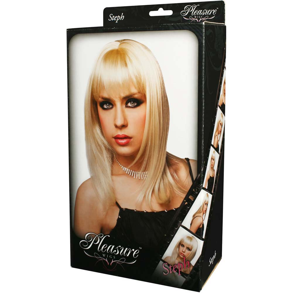 Pleasure Wigs Steph Wig Blonde - View #2