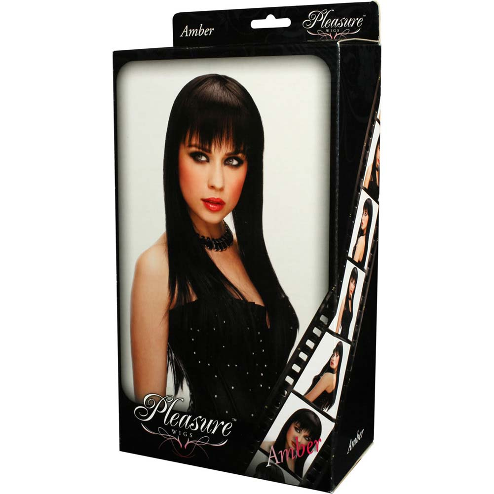 Pleasure Wigs Amber Wig Black - View #2