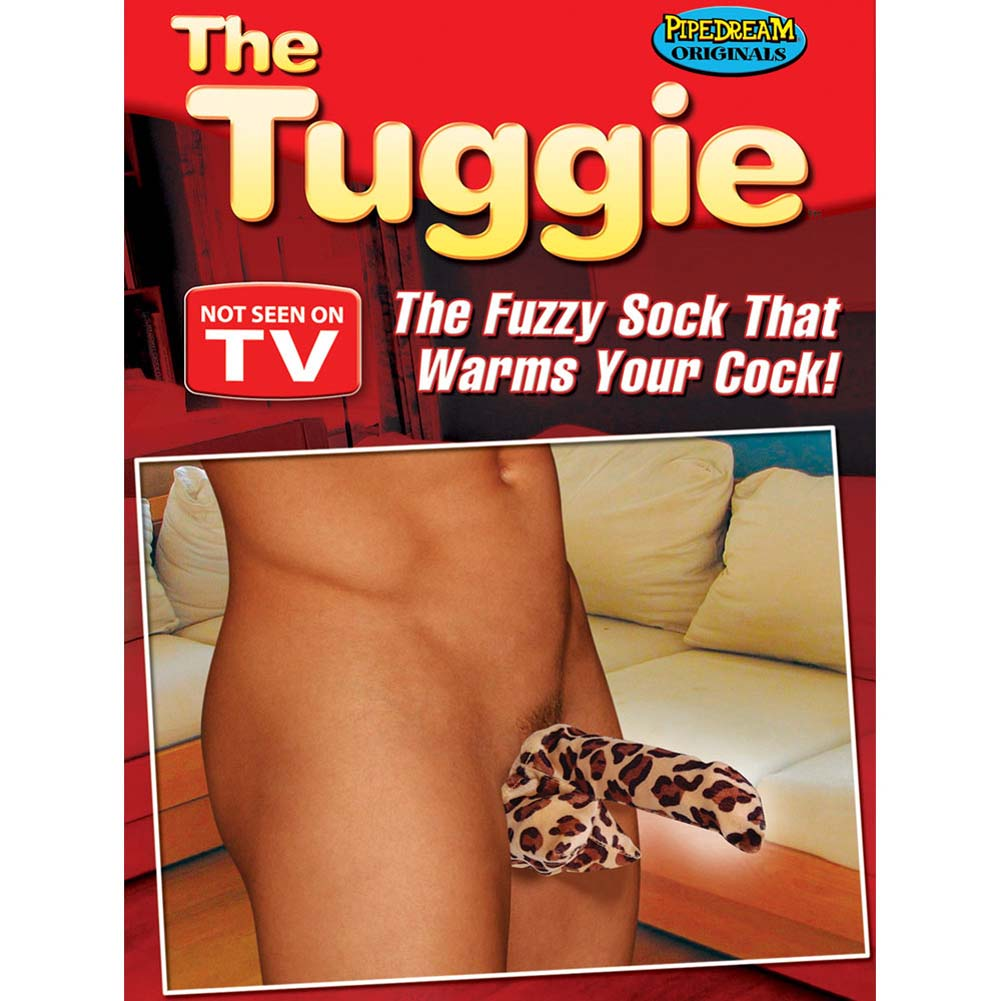The Tuggie - The Fuzzy Sock That Warms Your Cock - View #1