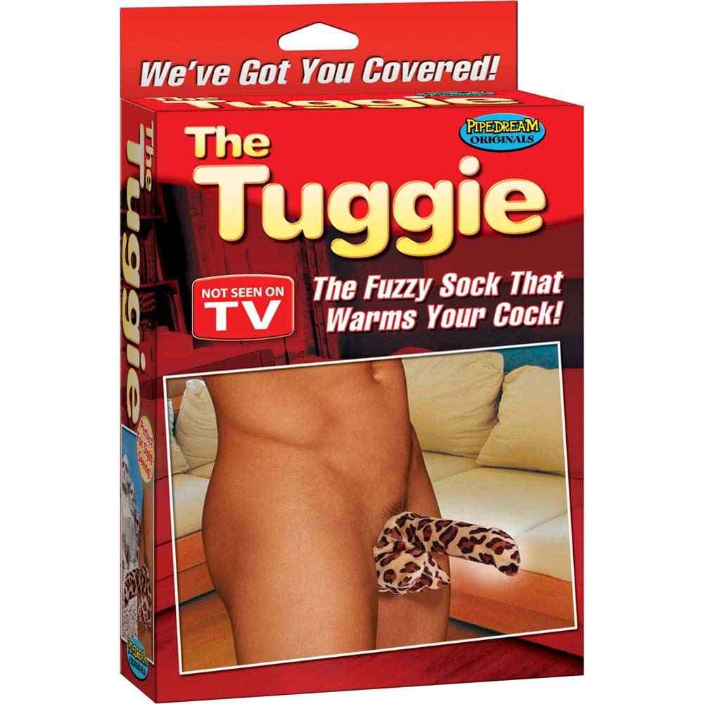The Tuggie - The Fuzzy Sock That Warms Your Cock - View #3