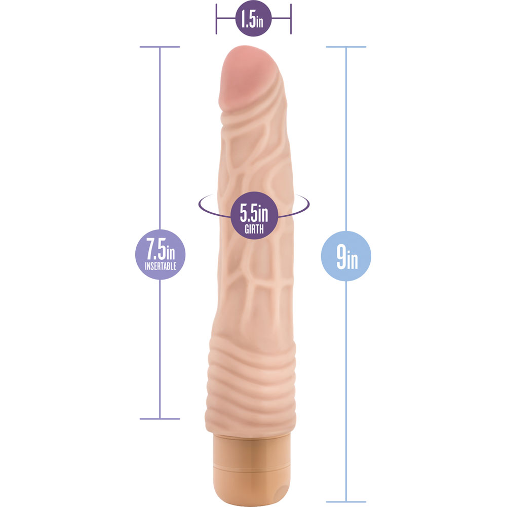 "Blush B Yours No. 2 Vibrator 9"" Natural - View #1"