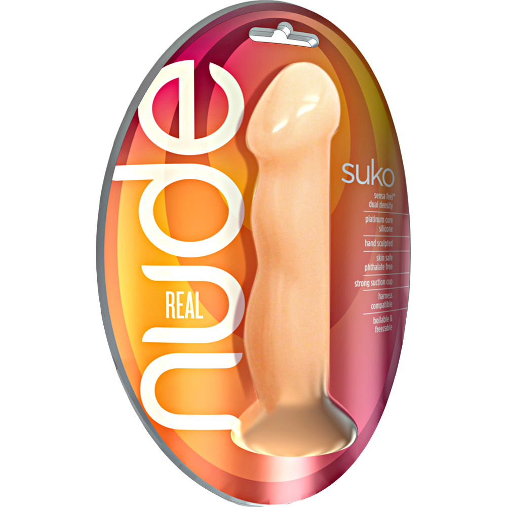 "Blush Real Nude Suko - Silicone Dildo 8"" Almond - View #1"
