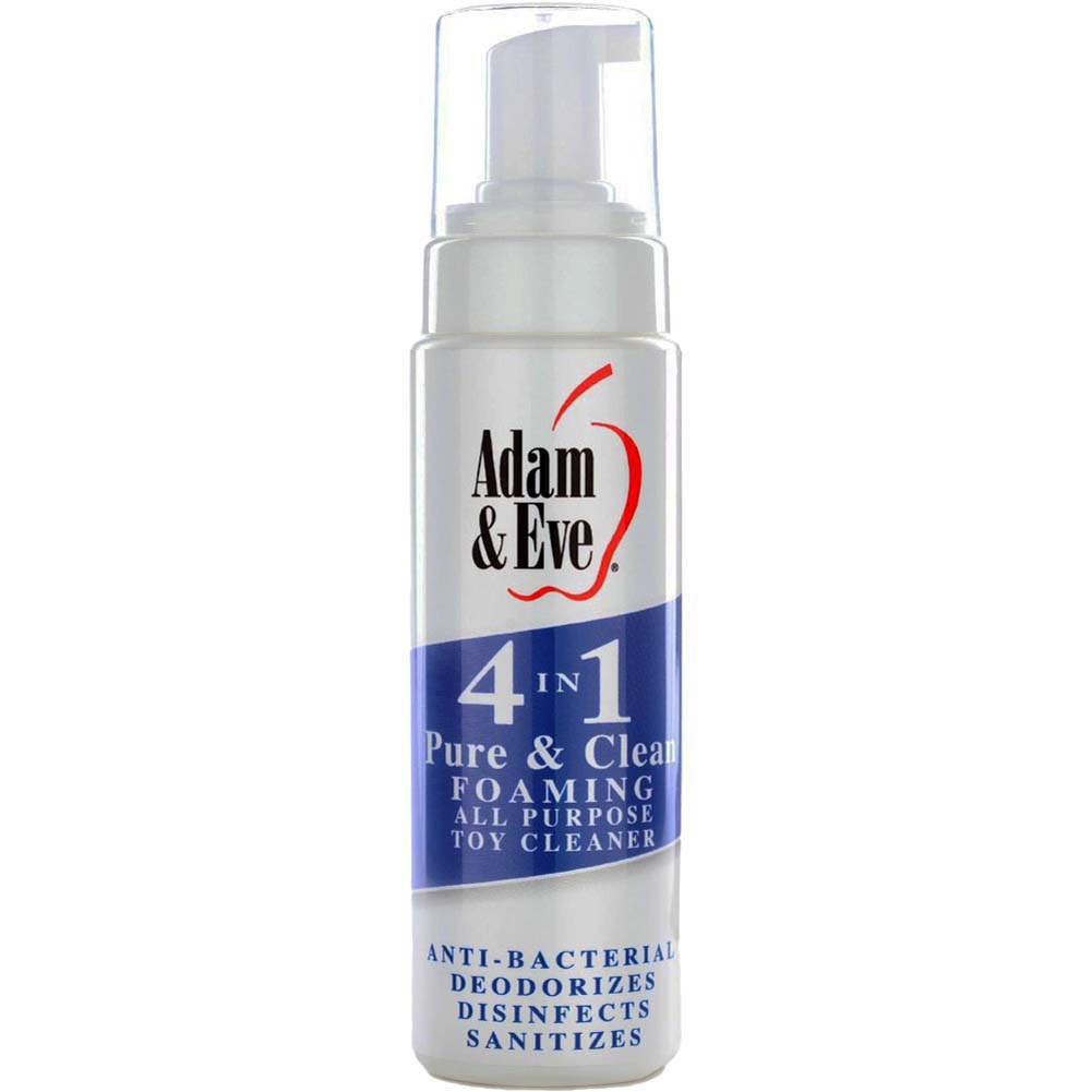 Adam and Eve 4-in-1 Pure and Clean Foaming Toy Cleaner 8 Fl.Oz 237 mL - View #1