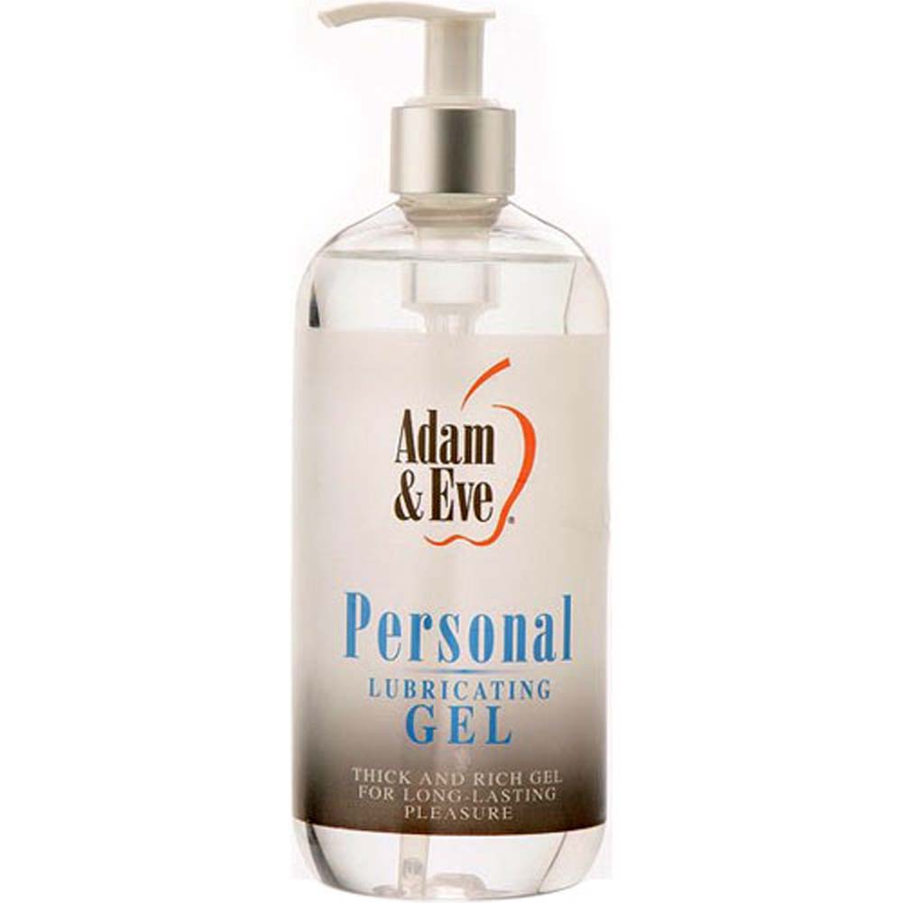 Adam and Eve Personal Lubricating Gel 16 Fl. Oz. - View #1