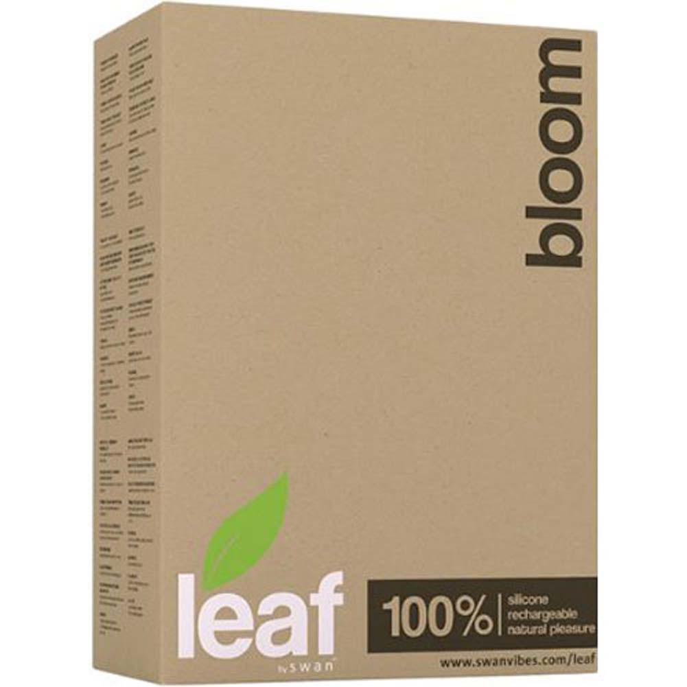 "Bloom by Leaf - Rechargeable Silicone Vibrator 6.5"" Green - View #4"
