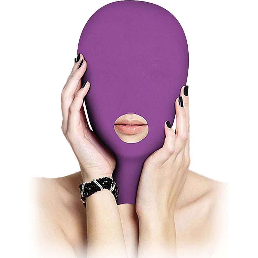 Ouch Submission Mask One Size Purple - View #2