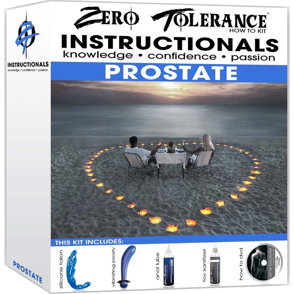 Zero Tolerance Instructionals How To Stimulate Prostate Kit for Men - View #4