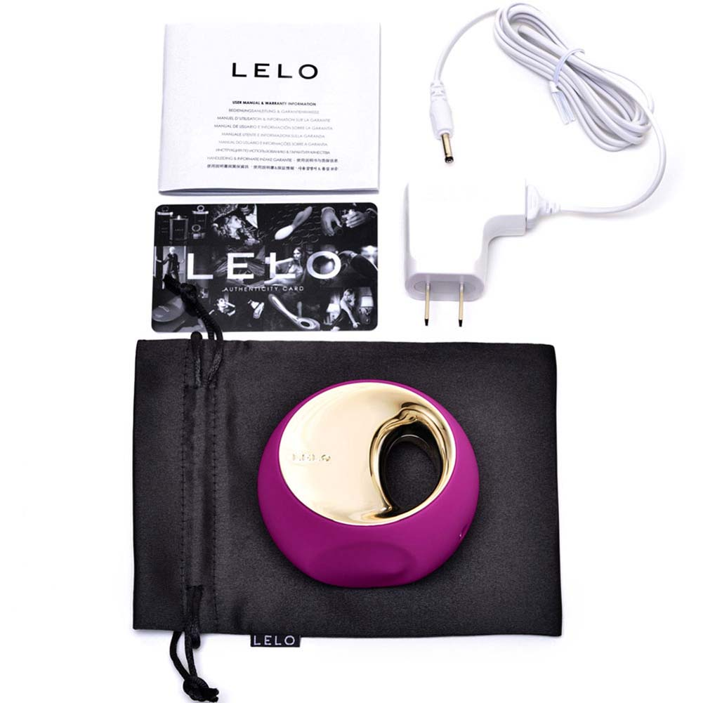 Lelo Ora 2 Vibrating Silicone Massager Deep Rose - View #1