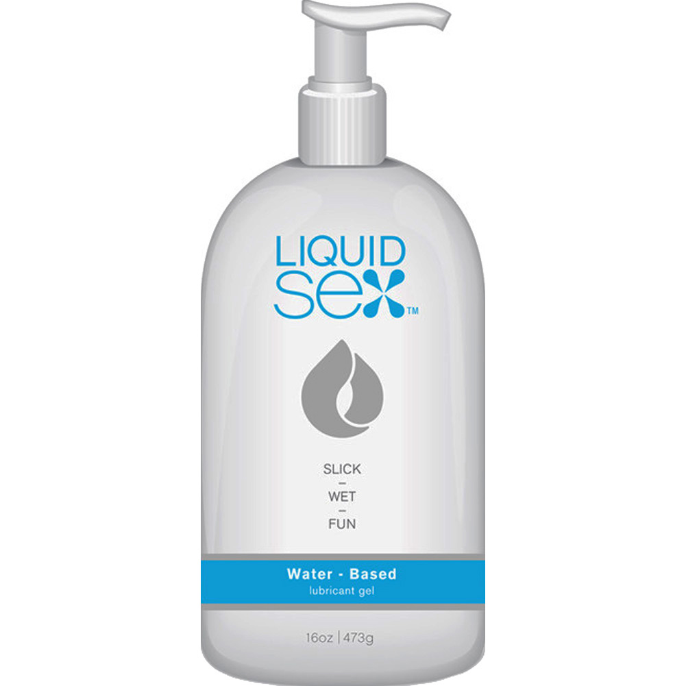 Liquid Sex Water-Based Lubricant16 Fl. Oz. 473 Ml Pump Bottle - View #1