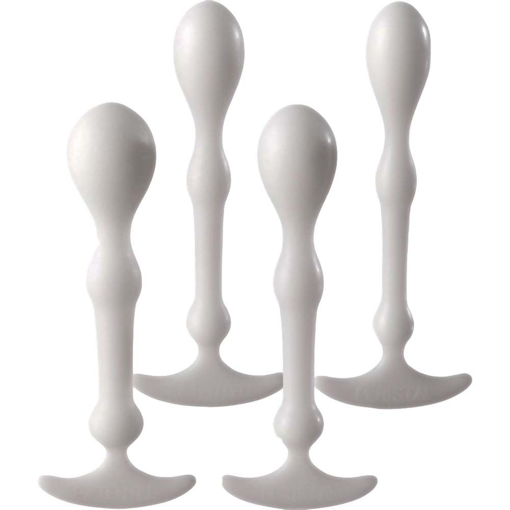 Aneros Peridise Unisex Anal Stimulator Complete 4 Piece Set White - View #2