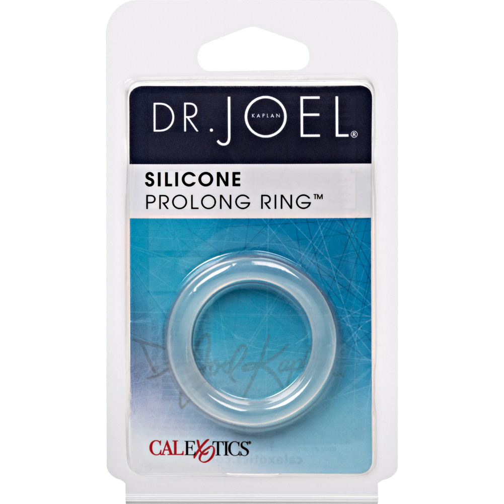 California Exotics Dr. Joel Kaplan Silicone Prolong Ring Clear - View #1