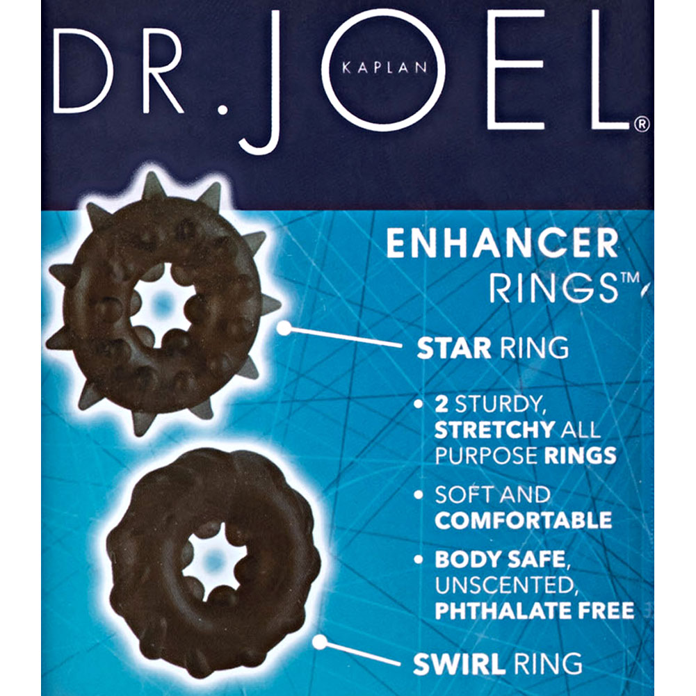 CalExotics Dr. Joel Kaplan Enhancer Rings Black - View #1