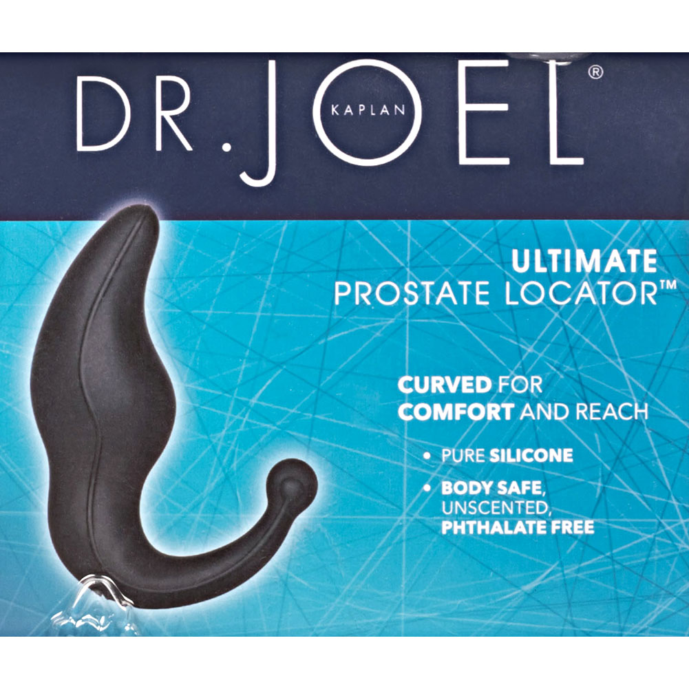 "California Exotics Dr. Joel Kaplan Ultimate Prostate Locator 3.5"" Black - View #1"