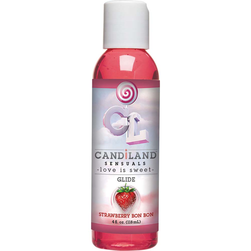 CANDiLAND SENSUALS Glide Strawberry Bon Bon 4 Fl. Oz. - View #2