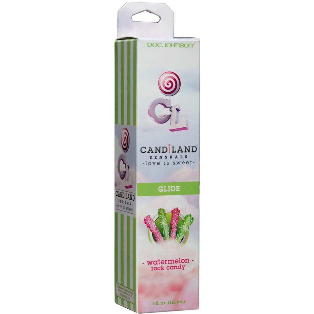 CANDiLAND SENSUALS Glide Watermelon Rock Candy 4 Fl. Oz. - View #1