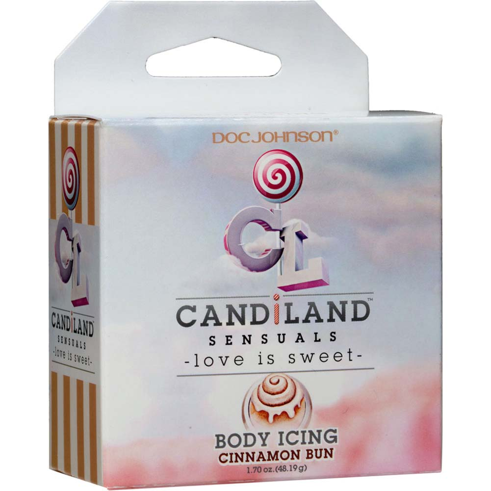 CANDiLAND SENSUALS Body Icing Cinnamon Bun 2 Oz Jar - View #1