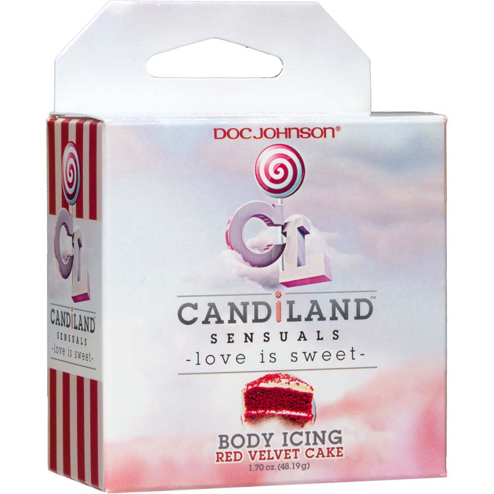 CANDiLAND SENSUALS Body Icing Red Velvet Cake 2 Oz Jar - View #1
