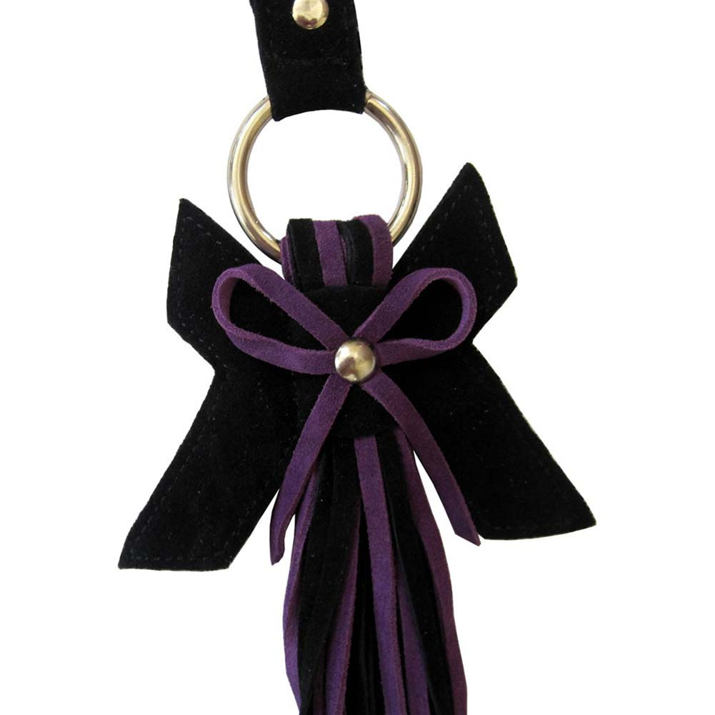 Lovestruck Flog-Her Purple with Black Bow - View #3