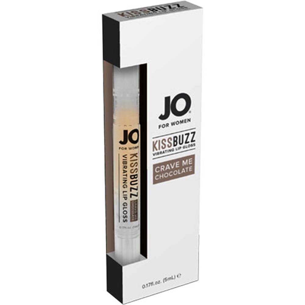 JO for Women Kiss Buzz Vibrating Lip Gloss Chocolate 0.17 Fl. Oz. - View #1