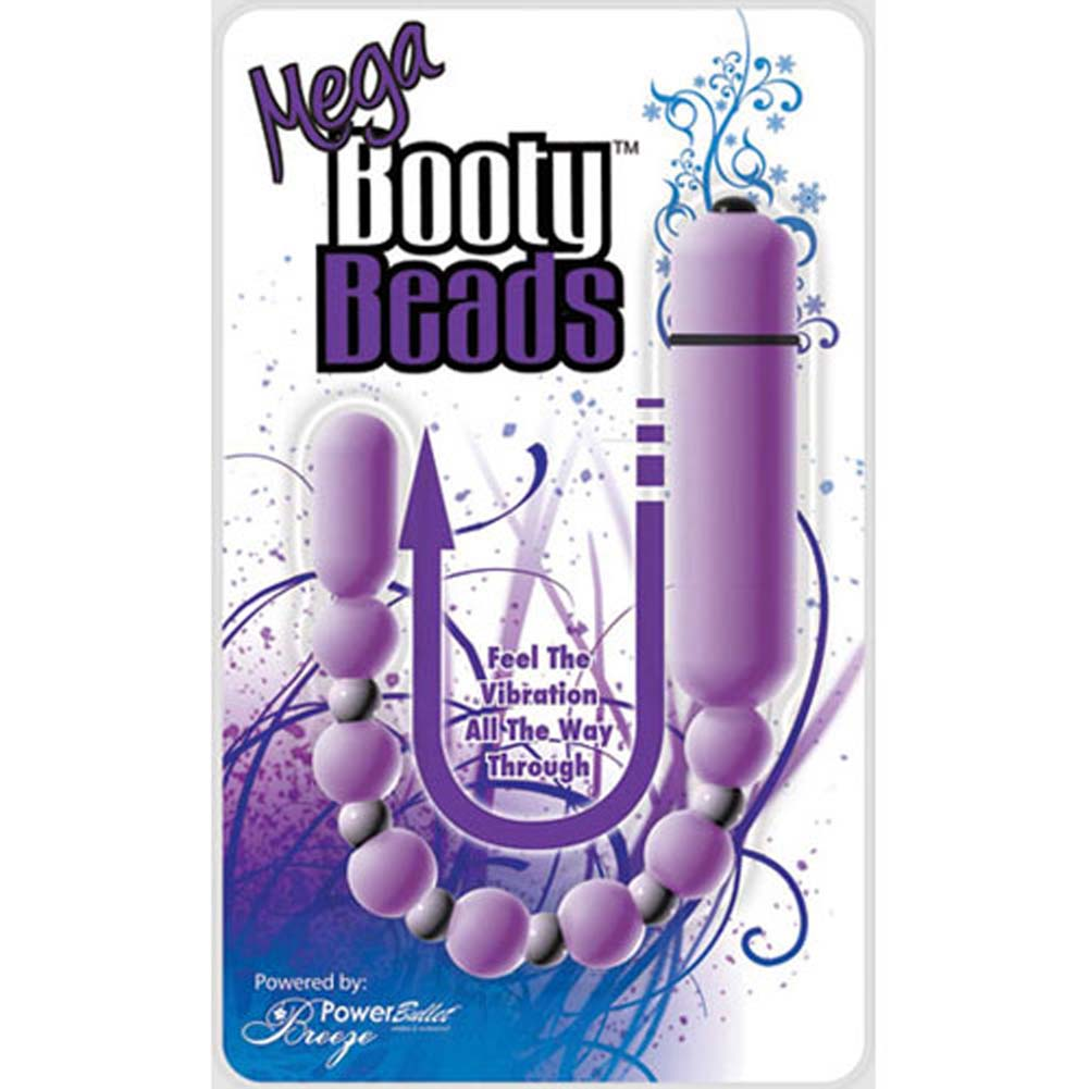 Breeze PowerBullet Mega Booty Vibrating Beads Lavender - View #1